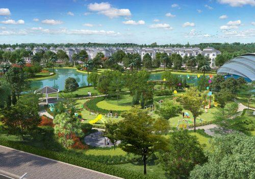 công viên vinhomes wonder park đan phượng