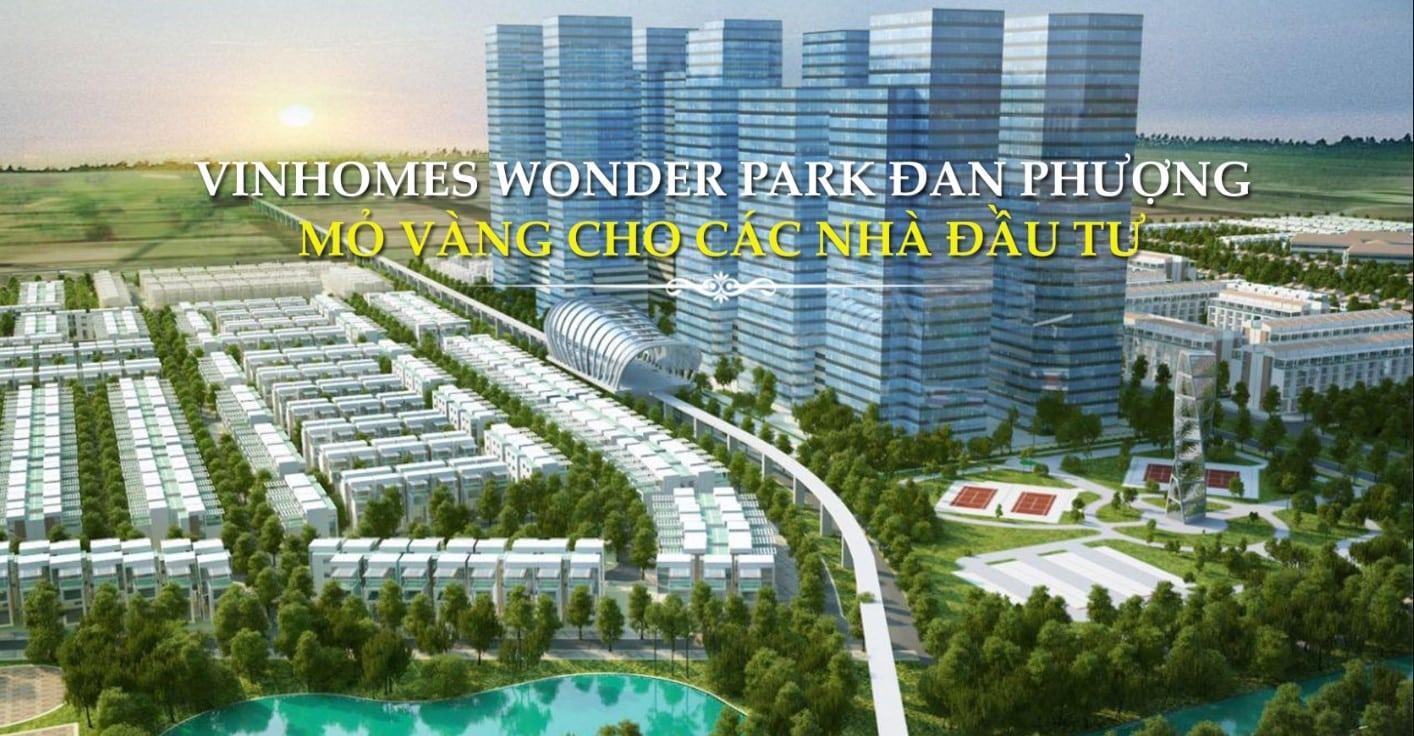 Dự án vinhomes wonder park đan phượng Hà Nội