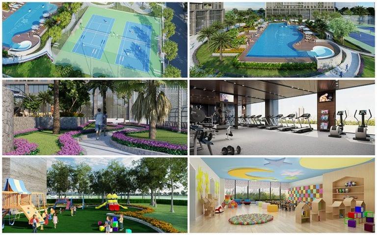 Sân thể thao Vinhomes Wonder Park Đan Phượng