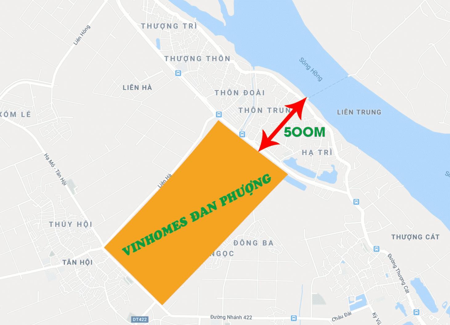 Vị trí Vinhomes Wonder Park Đan Phượng ở đâu Hà Nội  8
