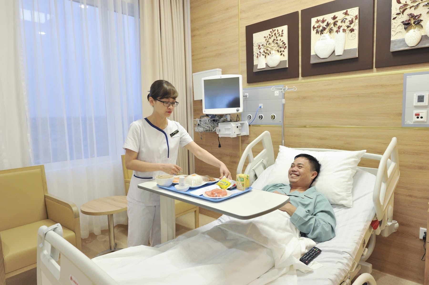 Dịch vụ chăm sóc tại Vinmec