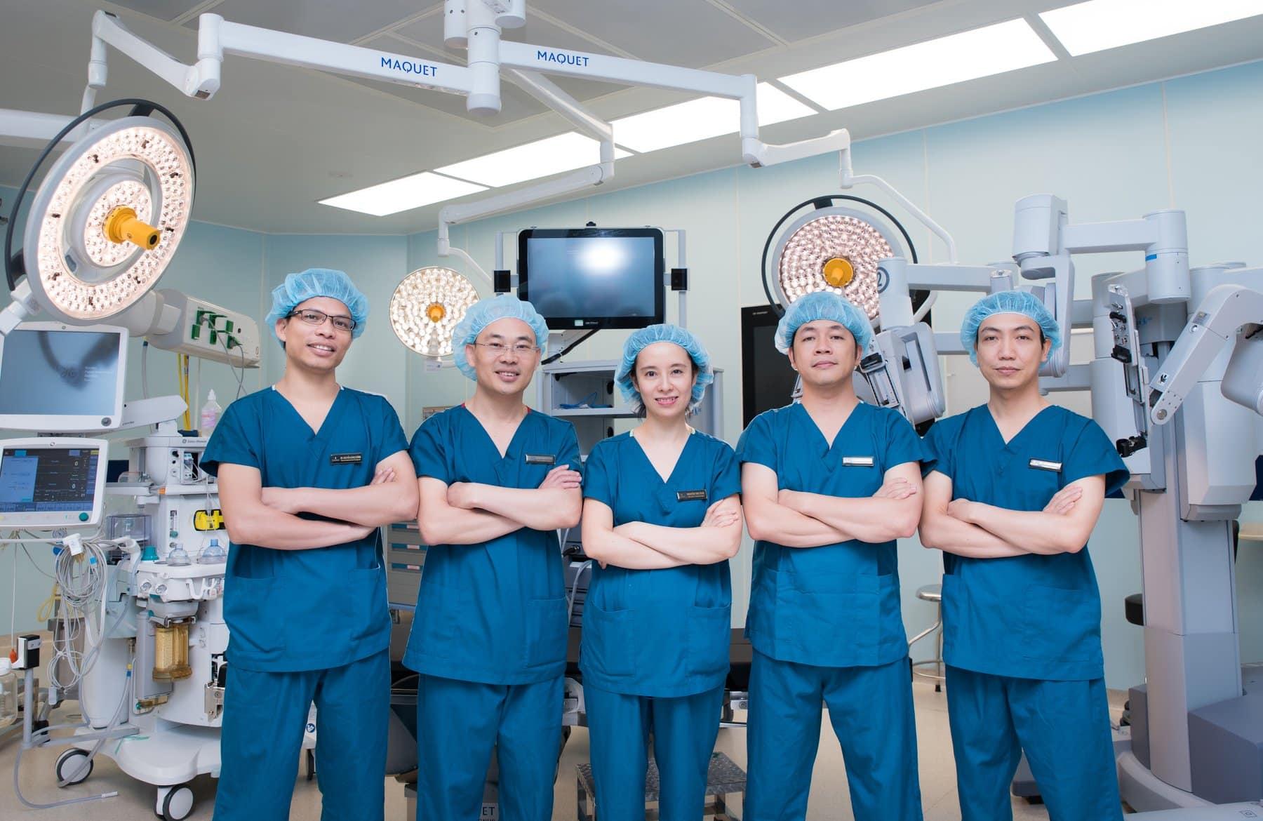 Đội ngũ y bác sĩ vinmec